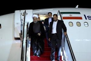 ورود رییس جمهور به تهران
