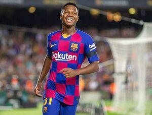 بارسلونا بهدنبال تمدید قرارداد فاتی