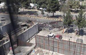 انفجار در نزدیکی سفارت آمریکا در کابل