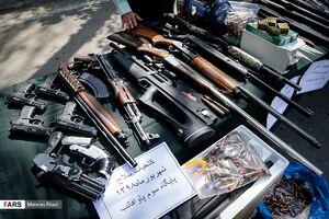 سلاح گرم اوباش تهران