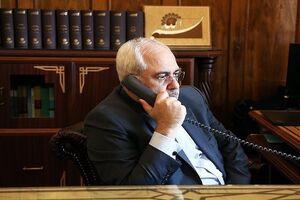 گفتگوی تلفنی ظریف با وزیر خارجه انگلیس