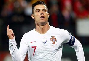 واکنش رونالدو به اعلام بهترین بازیکن+عکس