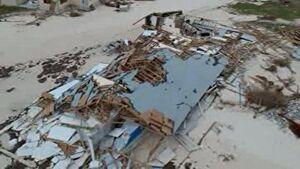 تصاویر هوایی از طوفان مرگبار دوریان