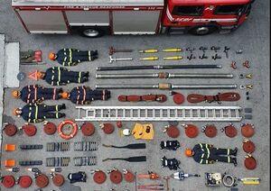 عکس/ تجهیزات آتشنشانی سنگاپور در یک قاب