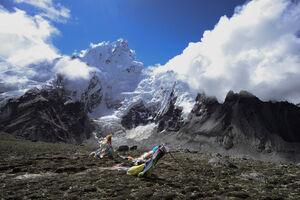عکس/ تاثیرگرم شدن کره زمین بر یخهای اورست