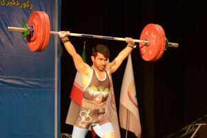 فیلم/ نخستین مدال وزنهبرداری در سبک وزن بعد از انقلاب