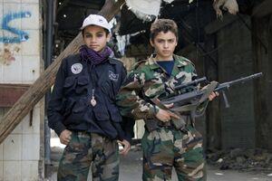نسل جدیدِ تکفیریها: کودکانی با سلاح و گوشی هوشمند