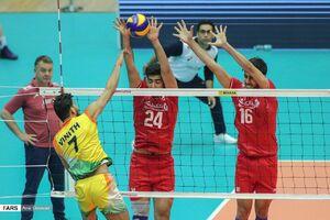 پیروزی آسان تیم ملی والیبال ایران مقابل هند