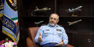 امیر سرتیپ خلبان عزیز نصیرزاده فرمانده نیروی هوایی ارتش
