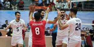 صعود بیچون و چرای والیبال ایران به نیمهنهایی
