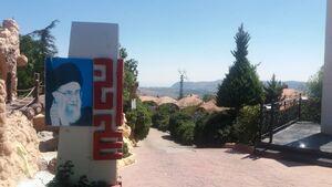 عکس/ بازدید مهمانان کنفرانس افق نو از مرز لبنان