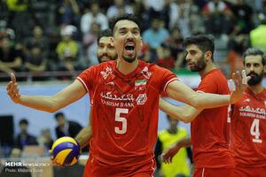 پیروزی تیم ملی والیبال ایران در ست نخست مقابل استرالیا