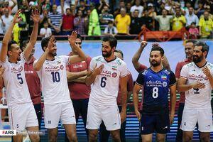 جایگاه ایران در پایان روز ششم جام جهانی والیبال + جدول و نتایج