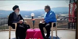 عکس/ پخش زنده شبکه افق از مرز لبنان و سرزمینهای اشغالی