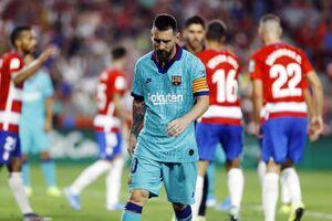 شکست دور از انتظار بارسلونا مقابل گرانادا