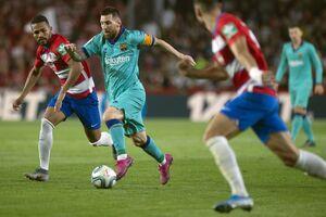 فیلم/ خلاصه دیدار گرانادا 2-0 بارسلونا