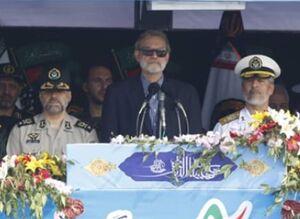 دشمنان ایران از سرنوشت صدام عبرت بگیرند/ برای نیروهای مسلح ایران هیچ چیز ارزشمندتر از برادری میان شیعه و سنی نیست