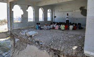 روز اول مدرسه در یمن +عکس