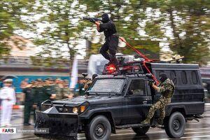 عکس/ رژه نیروهای مسلح در استانها
