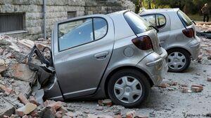 عکس/ وقوع زمین لرزه در آلبانی