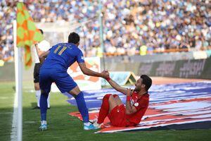 عکس/ تپیدن قلب فوتبال در استادیوم آزادی