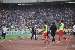 عکس/ شادی بازیکنان پرسپولیس در رختکن