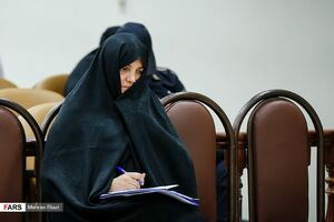عکس/ دومین جلسه دادگاه شبنم نعمت زاده