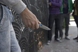 چاقوکشی در انگلیس به کودکان رسید