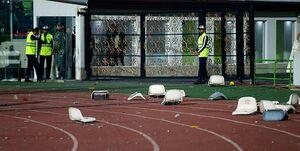وضعیت اسفناک ورزشگاه بعد از دربی +فیلم