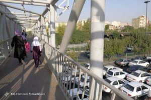 عکس/ خیابانهای تهران در اول مهر
