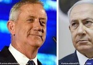 شکست نتانیاهو در برابر گانتس در گام اول