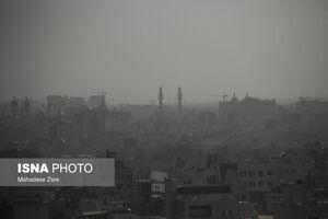 عکس/ آلودگی هوا در مشهد