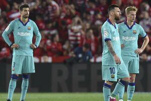 فاجعه در بارسلونا