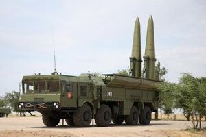 """فیلم/ آزمایش موشک قدرتمند""""اسکندر"""" روسیه"""
