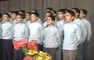 فیلم/ سرود نوستالژیک در حضور آیتالله خامنهای