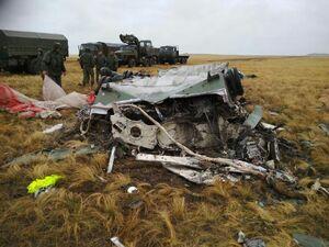 نابودی دو تانک روس پس از باز نشدن چتر نجات