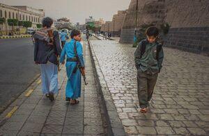 تصویر تاملبرانگیز از  آغاز سال تحصیلی در یمن