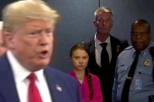 عکس/ حضور سرزده ترامپ در نشست فوقالعاده سازمان ملل