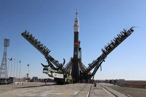 ۳۸ فروند ماهواره معطل موشک روسی سایوز