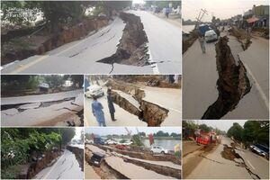 خسارت زمینلرزه قدرتمند در پاکستان