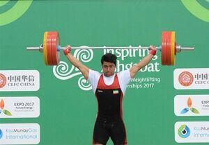 موسوی مدال برنز دوضرب را کسب کرد