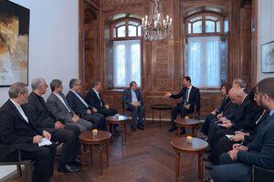 بشار اسد با هیئت ایرانی دیدار کرد