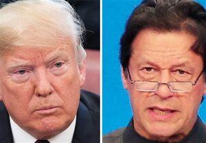 فیلم/ درخواست ترامپ از عمران خان برای وساطت