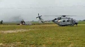 عکس/ سقوط جنگنده نیروی هوایی هند