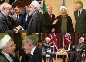 تکرار تاریخ و راز خندههای روحانی با نخست وزیر انگلیس+ عکس