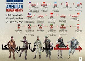 گوشه ای از جنایات و جنگ طلبی آمریکا +عکس