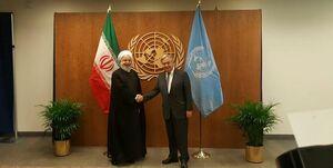 روحانی با دبیرکل سازمان ملل دیدار و گفتوگو کرد