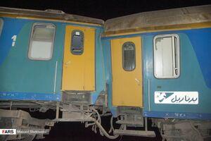 دلیل احتمالی حادثه قطار زاهدان