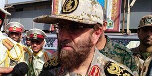 عکس/ فرمانده تفحص شهدا در تشییع پیکر شهید مرتضی ابراهیمی