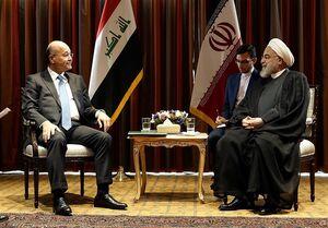 تاکید روسای جمهور ایران و عراق بر تسهیل سفر زوار اربعین